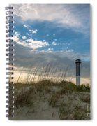 Sc Lighthouse View Spiral Notebook