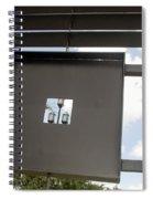 3 Lights Thru The Box Spiral Notebook