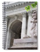 Lion New York Public Library Spiral Notebook