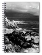 Lone Cypress On The Coast, Pebble Spiral Notebook