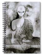 Lotus Position Spiral Notebook