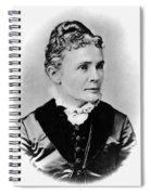 Lucretia Garfield (1832-1918) Spiral Notebook