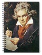 Ludwig Van Beethoven (1770-1827) Spiral Notebook