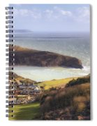 Lulworth Cove Spiral Notebook