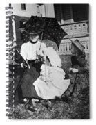 Mamie Eisenhower (1896-1979) Spiral Notebook