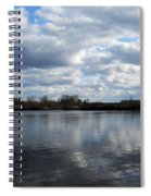 Mansfield Hollow Lake Spiral Notebook