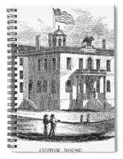 Massachusetts Salem, 1851 Spiral Notebook