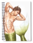 Merman Spiral Notebook
