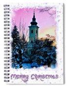 Christmas Card 22 Spiral Notebook