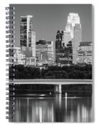 Minneapolis Mn Spiral Notebook