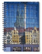 Mirror On The Wall Spiral Notebook