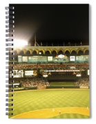 Moon In The Arches Spiral Notebook