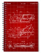 Mouse Trap Patent - Red Spiral Notebook