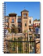 Mudejar Pavilion In Seville Spiral Notebook