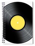 Music Record Spiral Notebook