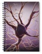 Neuron Spiral Notebook