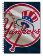 New York Yankees Uniform Spiral Notebook