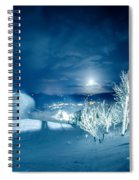 North Carolina Sugar Mountain Ski Resort Winter 2014 Spiral Notebook
