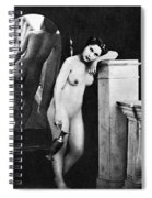 Nude Posing, C1850 Spiral Notebook