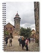 Nurnberg Germany Castle Spiral Notebook