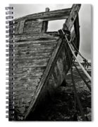 Old Abandoned Ship Spiral Notebook