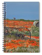 Old Farm Equipment Spiral Notebook