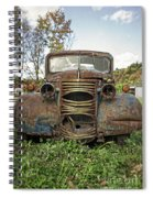 Old Junker Car Spiral Notebook