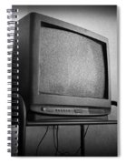 Old Television Spiral Notebook