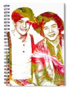 One Direction Spiral Notebook