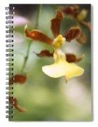 Orchids Dance Spiral Notebook