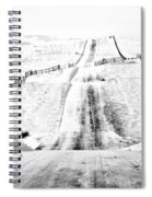 Over The Hill And Far Away Spiral Notebook