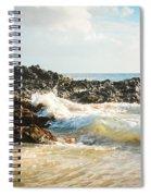 Paako Beach Makena Maui Hawaii Spiral Notebook