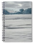 Pack Ice, Antarctica Spiral Notebook