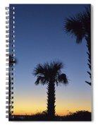 Carolina Palm Sky Spiral Notebook