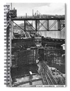 Panama Canal, 1910s Spiral Notebook