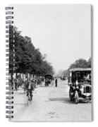 Paris Champs Elysees Spiral Notebook