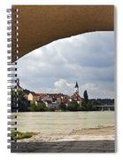 Passau Germany Spiral Notebook