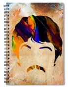 Paul Mccartney Collection Spiral Notebook