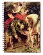 Perseus Liberating Andromeda Spiral Notebook