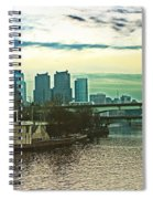 Philadelphia Skyline Spiral Notebook