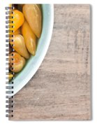 Pickled Peppers Spiral Notebook