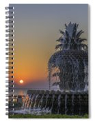 Waterfront Park Glowing Spiral Notebook
