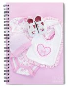 Pink Baby Clothes For Infant Girl Spiral Notebook