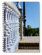 Plaza De Espana Spiral Notebook