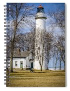 Pointe Aux Barques  Lighthouse Spiral Notebook