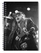 Poison - Brett Michaels Spiral Notebook