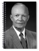 President Dwight Eisenhower - Four Spiral Notebook