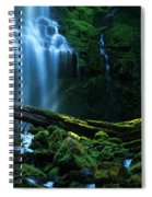 Proxy Falls Oregon Spiral Notebook