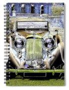 Psychedelic Classic Lagonda Spiral Notebook