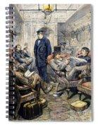 Pullman Car, 1876 Spiral Notebook